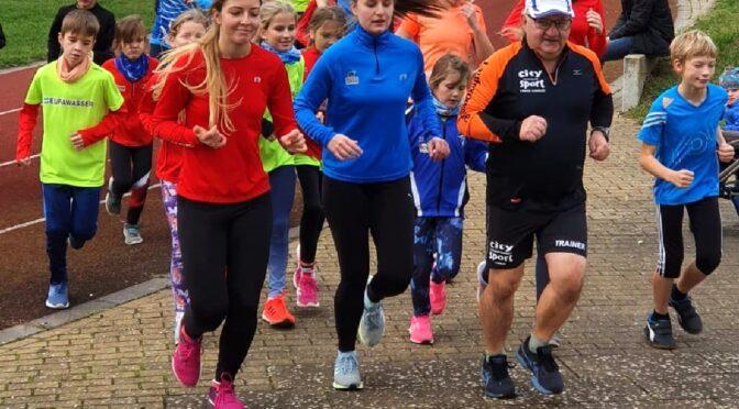 Laufcup-Abschluss-Lauf für über 140 Ausdauersportler in und durch Laage